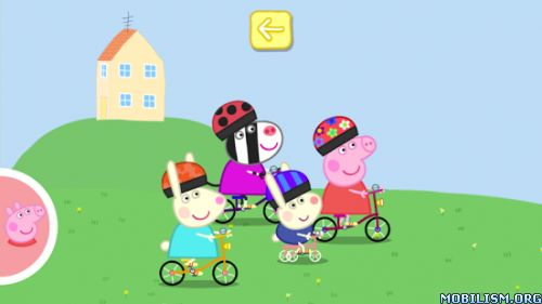 Peppa Pig: Sports Day v1.1.0Requirements: Android 2.3 +Overview: Peppa is competing in Sports Day and she wants you to join in the fun in this official app.  Peppa is competing in Sports Day and she wants you to join in the...