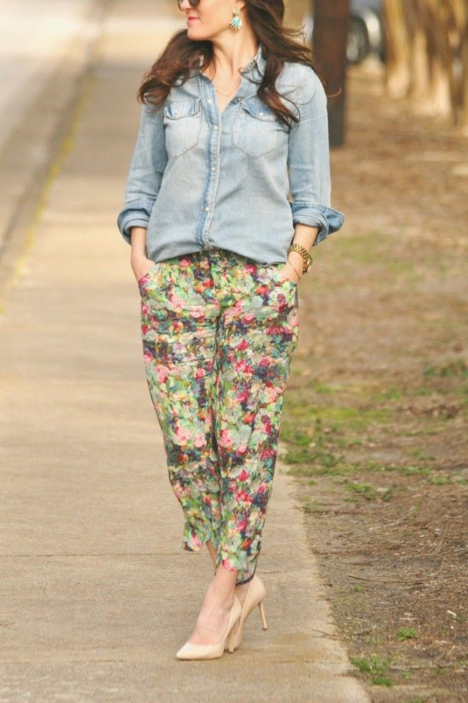 Spring outfit ideas via Peaches In A Pod Blog.