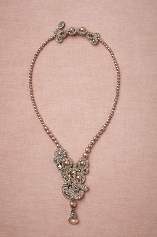 Moons of Jupiter Necklace ... if I were getting married all over again ...