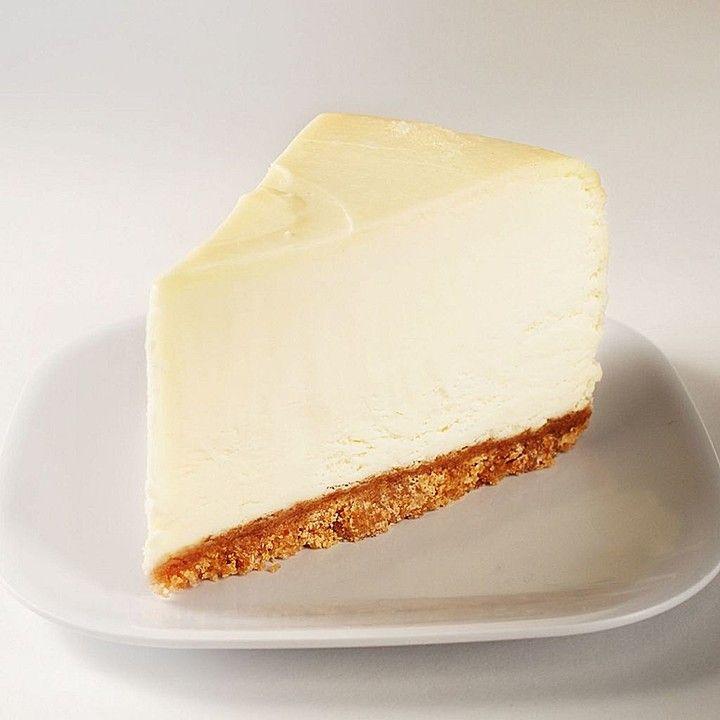 The incredibly creamy NY Cheese Cake