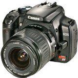 Canon Digital Rebel XT 8MP Digital SLR Camera with EF-S 18-55mm f3.5-5.6 Lens (Black) (Camera)By Canon