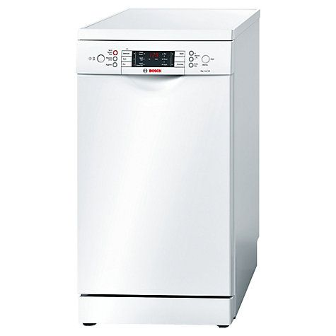 Buy Bosch SPS59T02GB Freestanding Dishwasher, White Online at johnlewis.com