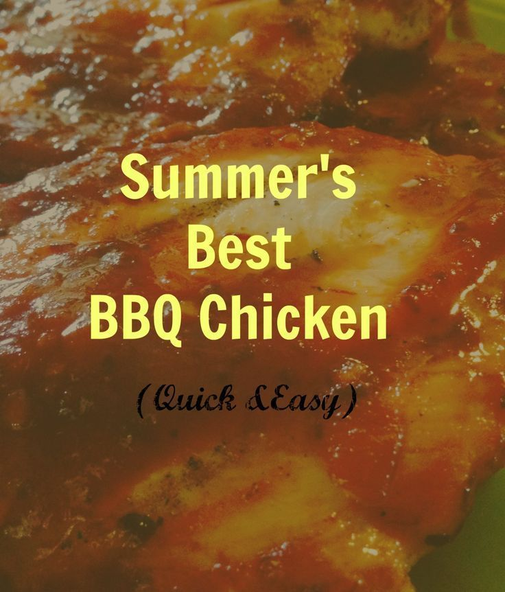 The most amazing BBQ chicken recipe EVER!! Visit www.onlygirl4boyz.com for more recipes!