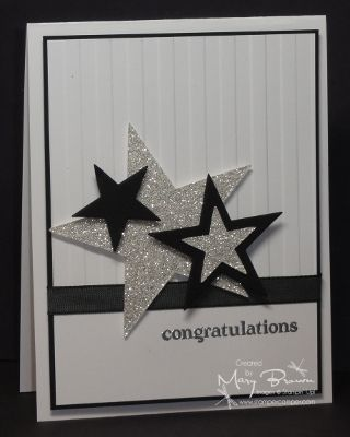 Congratulations by stampercamper - Cards and Paper Crafts at Splitcoaststampers