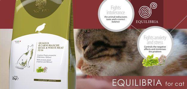 Equilibria (antistresové krmivo) - pre mačky - ŤAPKA.SK