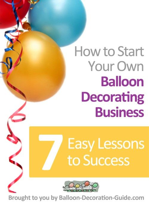 Balloon Business Ideas