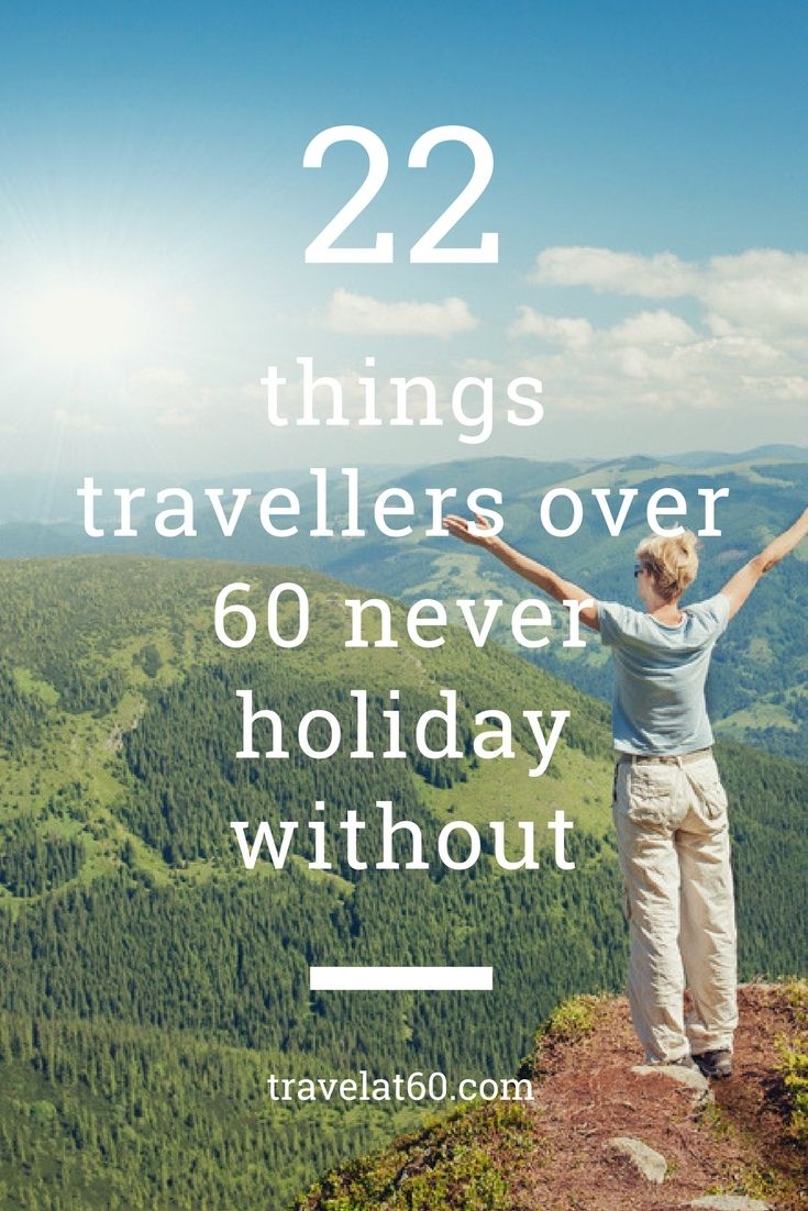 From teabags to toiletries, here are some of the weird and wonderful things travellers over 60 won't travel without.