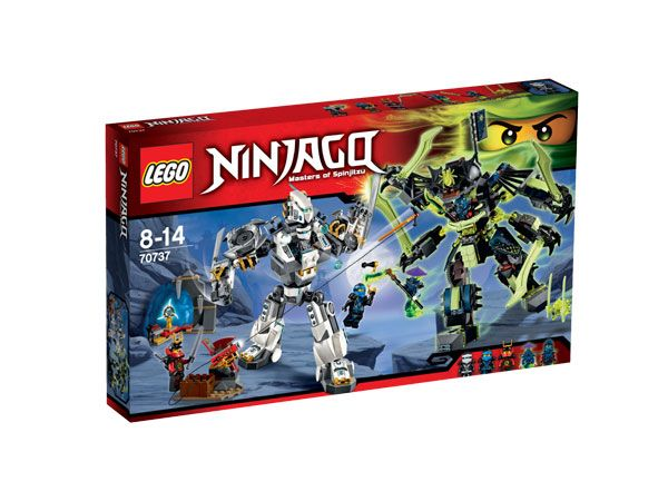 Lego Ninjago Titanium Mecha Duel