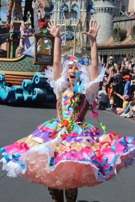 Festival of Fantasy parade pictures and trivia. Mouse University Online.