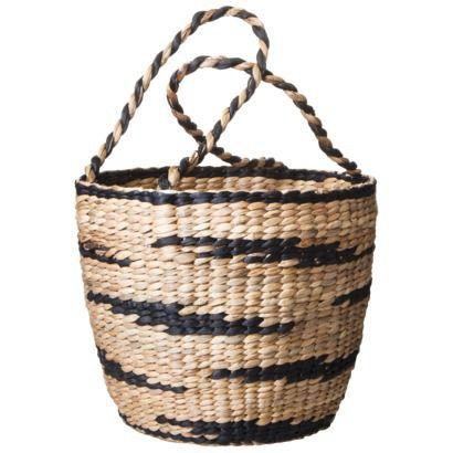 Nate Berkus™ Water Hyacinth Basket with Handles