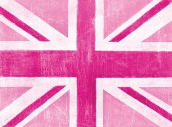 Pink, vintage & union jack