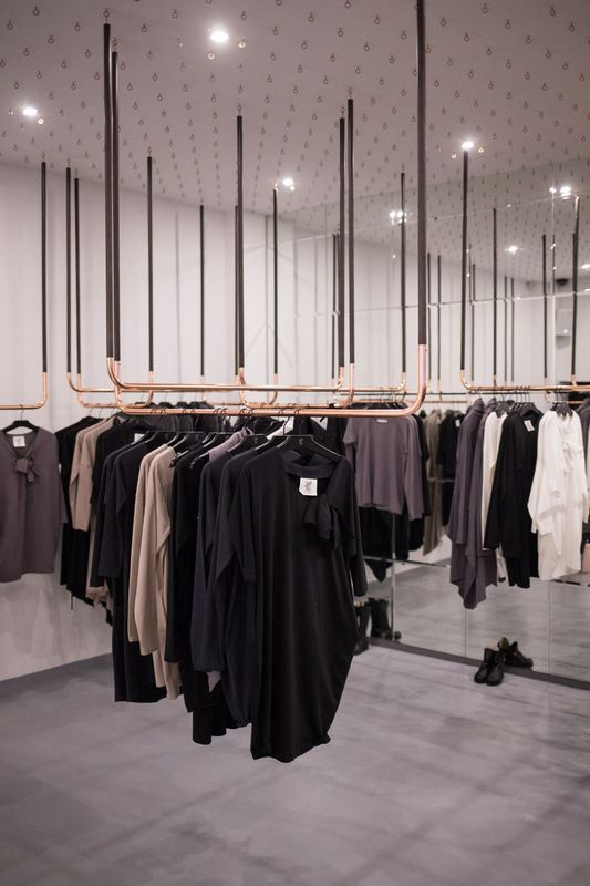 butik-wearso-organic-fot-szymon-brzoska / STUDIO RYGALIK gives an astonishing interior design to WERSO. ORGANIC store