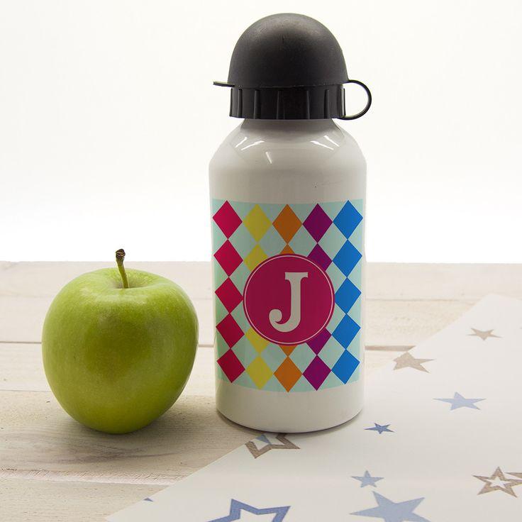 Mosaic Tiled Personalised Water Bottle https://www.myonlinegifts.co.uk/products/mosiac-tiled-personalised-water-bottle