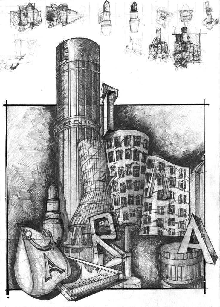 Architecture Drawing Pencil 100 best architectural composition images on pinterest