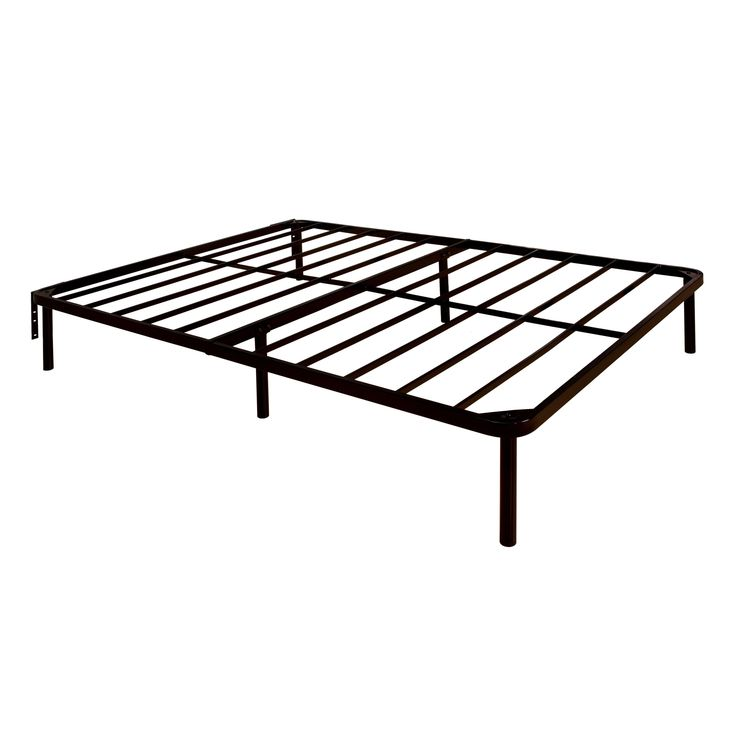 furniture of america tauro metal heavy duty bed frame full black