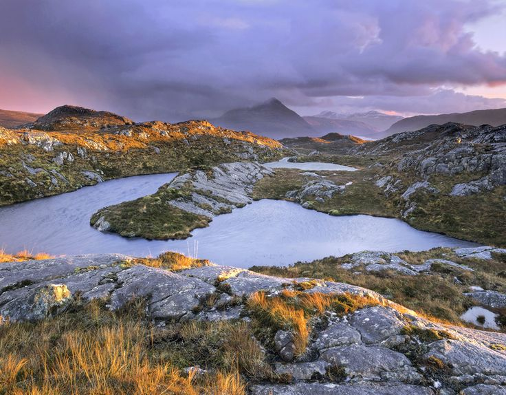 Sunset Squall Diabaig © Ian Cameron