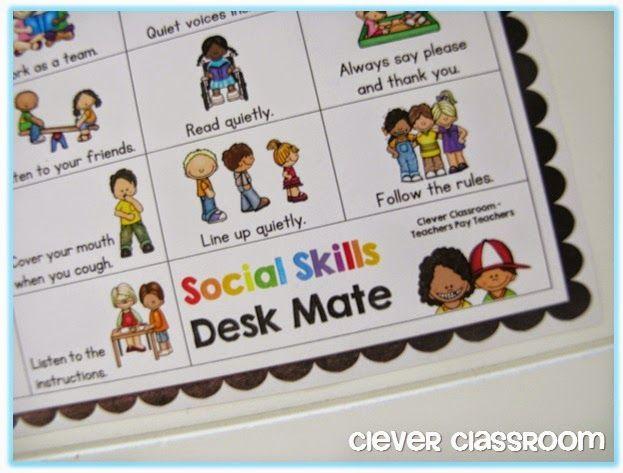 Social Skills Desk Mate and Mini Flippy Books
