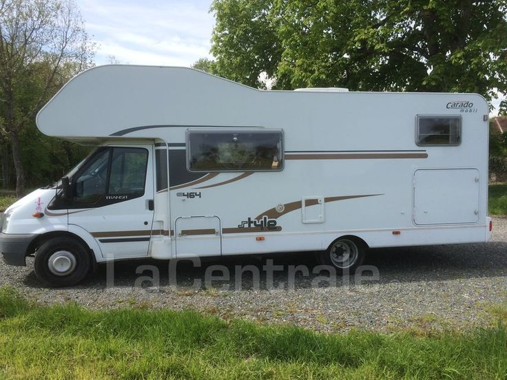 Camping-Car CARADO CARADO A 464 FORD TRANSIT 140 2010 Diesel occasion - Indre-et-Loire 37