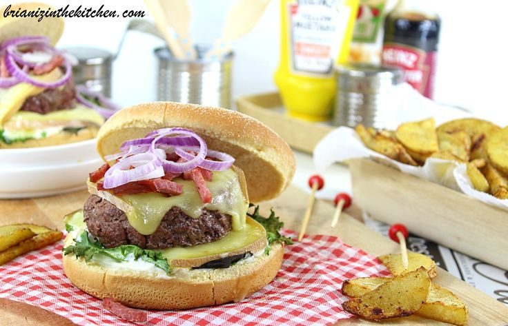 Burger Raclette & Potatoes Maison Sans Friture {Cuisson au Four}