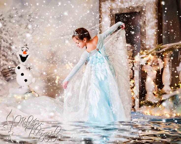 Frozen Scene - Elsa - girly scene - Children Photography - Milestone Photography - New Orleans