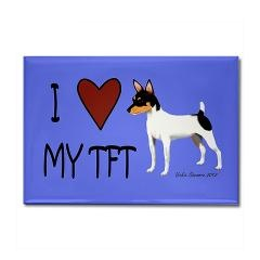 I love my Toy Fox Terrier magnet!