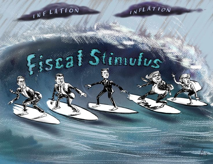 Barometer Capital Management Inc. Barometer's q-toon for the 2016 Q4, Get ready for the fiscal tsunami coming in 2017.