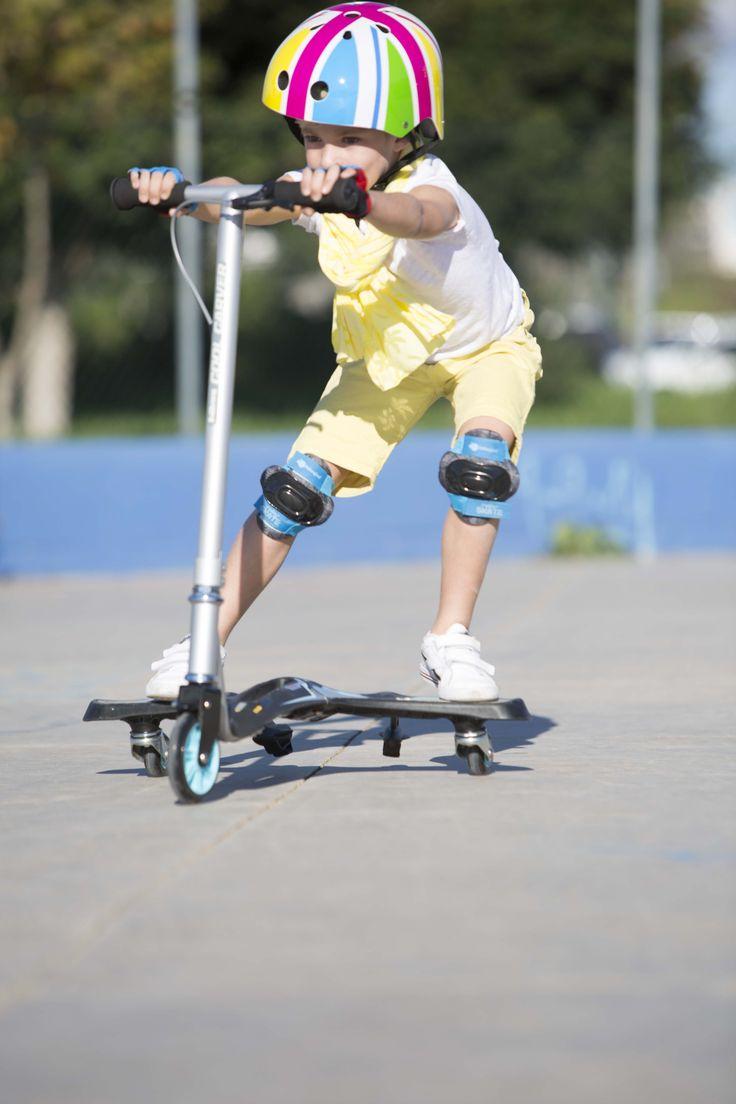 ¡Vamos a patinar! Patinete de tres ruedas para niños. ¡Chulísimo! #patinete #deporte #niños