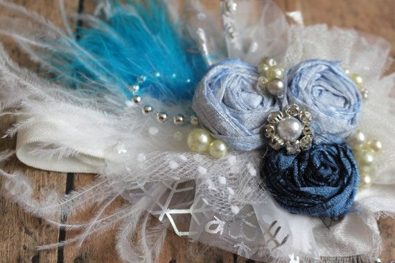 Frozen Headband Elsa Headband Blue Silver and by AldonasBoutique https://www.etsy.com/listing/211830076/frozen-headband-elsa-headband-blue
