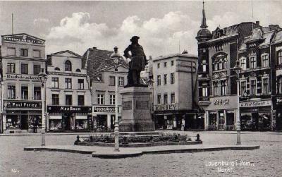 Lauenburg in Pommern, Friedensplatz