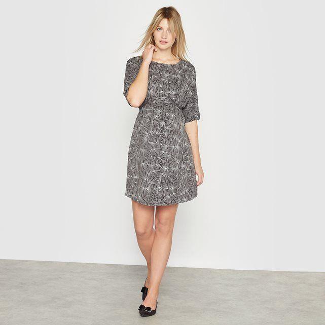 Image Sukienka ciążowa z krótkim rękawem R essentiel