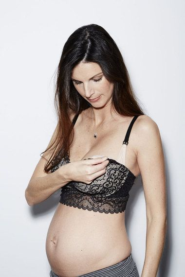 The Sexiest Nursing and Handsfree Pumping bra ever: Ayla Luxury Lace!