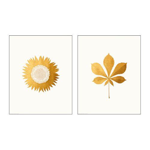 IKEA - TVILLING, Plakat, 2szt., Motyw autorstwa: Silkie Spingies.Możesz nadać domowi osobisty charakter dekorując go pracami artystycznymi, które wyrażają Twój styl.