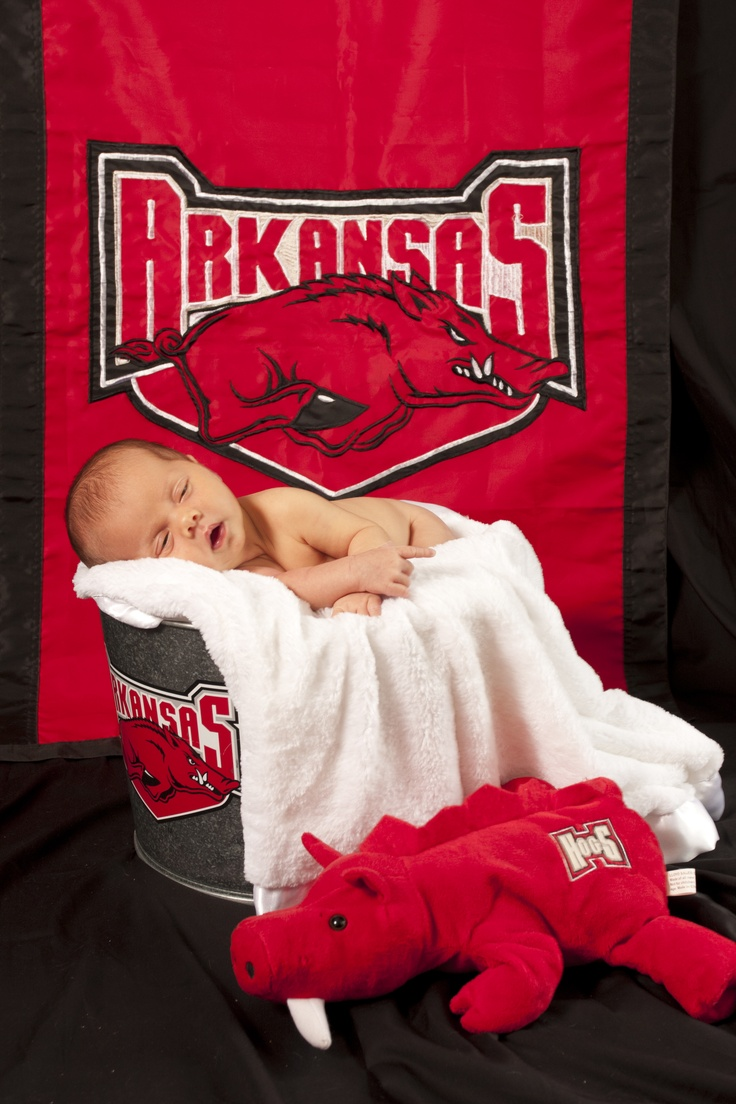 Baby Razorback! Cutest thing I have ever seen!