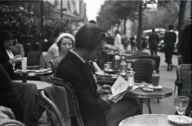 """""""Le Dome"""" café Paris 1936"""