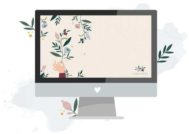 Une Illustration green et colorée à télécharger pour vos fonds d'écran de téléphone, ordinateur et tablette.