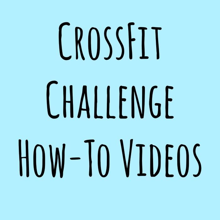 At Home CrossFit Videos (for technique) - Life Made Full
