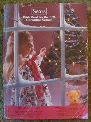 Sears Christmas Wish Book 1974.  Oh how I loved when we got these! Hours of circling what I wanted for xmas. *sigh*...oh for the careless, stress free days of childhood.