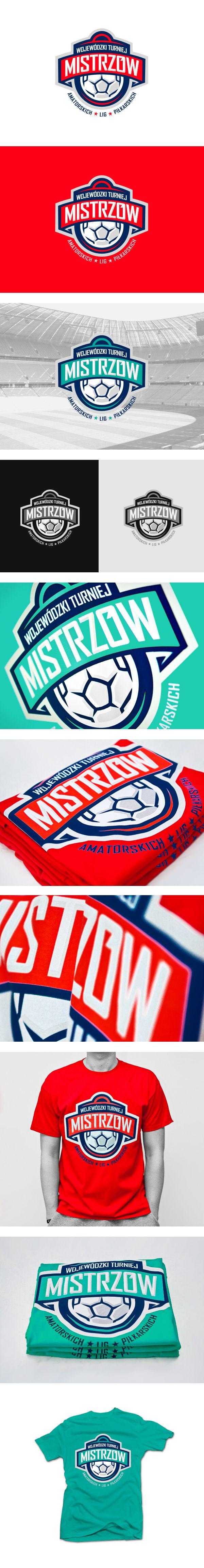 Football Tournament Logo by Lunatic, via Behance