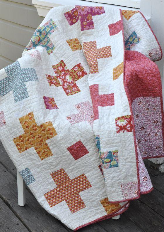 raaga cross quilt tutorial by Monaluna