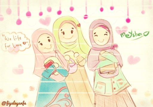 we are muslimah :)