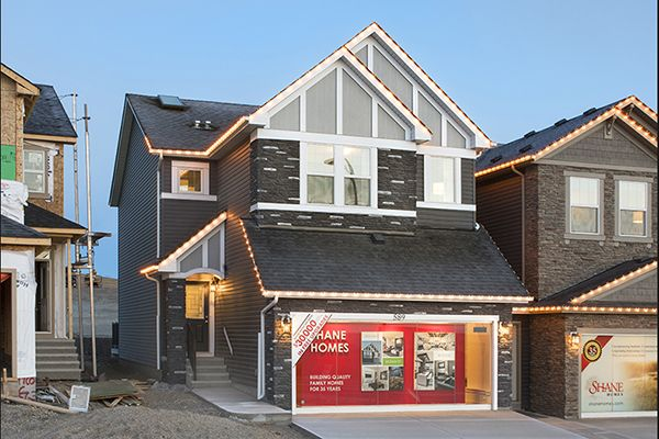 Exterior of Orion II showhome in Nolan Hill