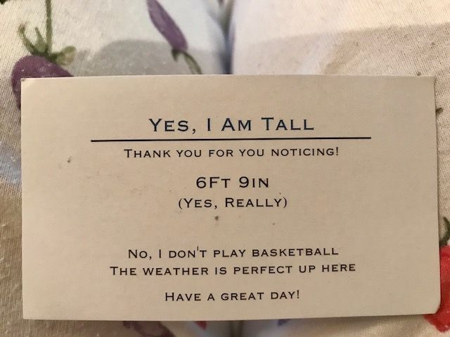 Best Business Card Ever Funny Business Cards Cool Business Cards Tall People Problems