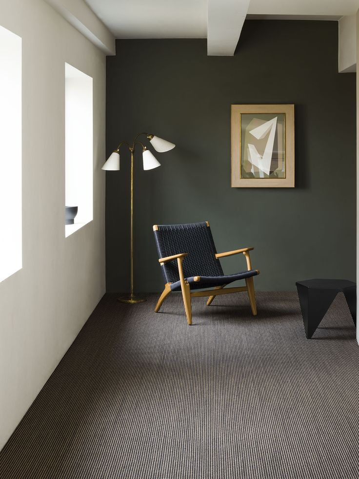 Natural plant fibre floorcoverings can also be dark and dangerous! Sisal Sahara here in Ebony. Stunning! http://www.crucial-trading.com/collection/intense/