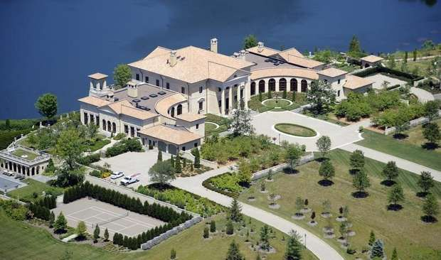 Indianapolis most expensive homes indianapolis homes for Most luxurious house