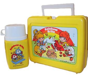 The 80's Lunch Box and Thermis!! I loved these then I still do.  If only I could find one somewhere.