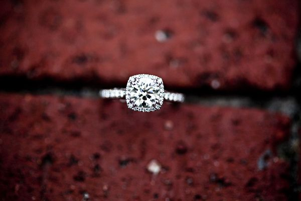 Cushion cut Tacori...Love <3 Top 5 but in rose gold and I am not a fan of the halo around it