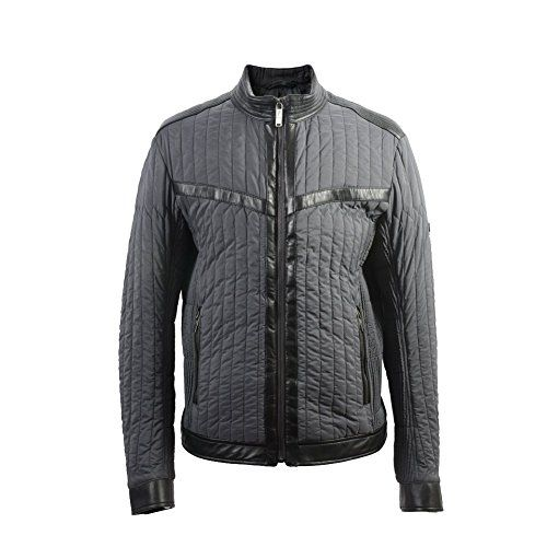 VERSACE Versace Collection Men'S Quilted Lightly Insulated Leather Trimmed Jacket. #versace #cloth #