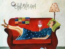 Postkarte! Chillmalmama!!! – Katja Tacke