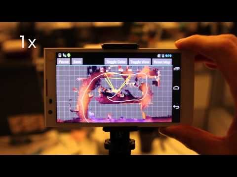 Project Tango - real-time 3D reconstruction on mobile phone - YouTube