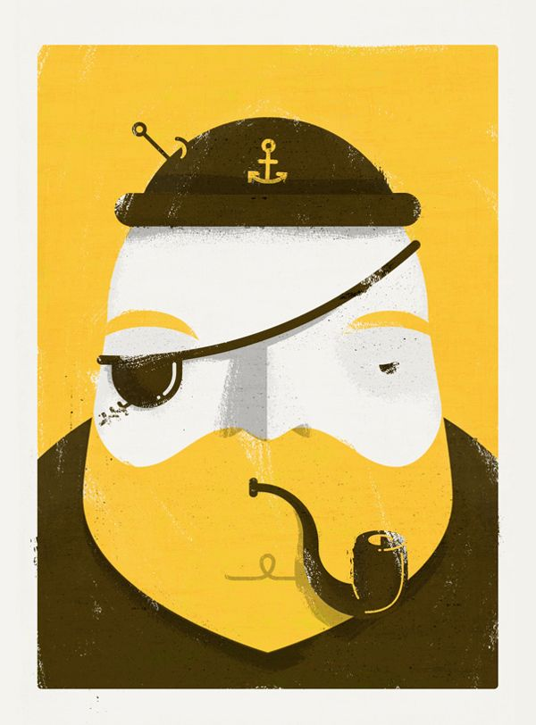 Hardened by Johnny Kotze, via Behance join us http://pinterest.com/koztar/ #Captain #Illustration